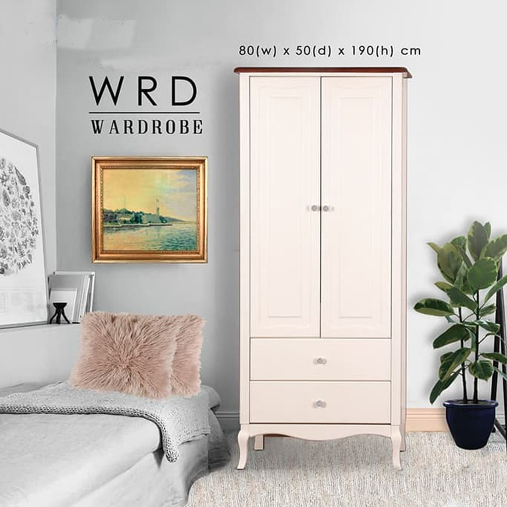 WRD lemari 2 pintu